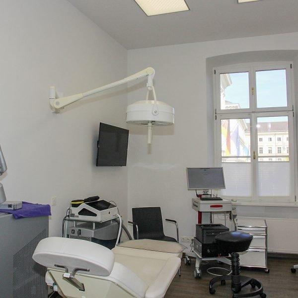 Laserraum Dermatologie am Odeonsplatz, München