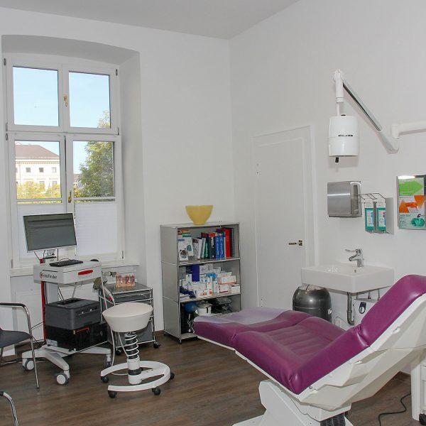 Behandlungsraum Dermatologie am Odeonsplatz